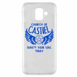 Чохол для Samsung A6 2018 Church of Castel