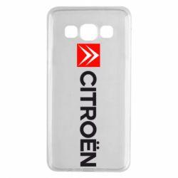 Чохол для Samsung A3 2015 Citroën Logo