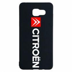 Чохол для Samsung A5 2016 Citroën Logo
