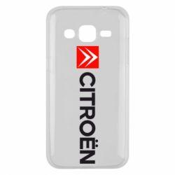 Чохол для Samsung J2 2015 Citroën Logo