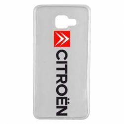 Чохол для Samsung A7 2016 Citroën Logo