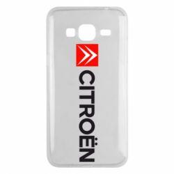Чохол для Samsung J3 2016 Citroën Logo