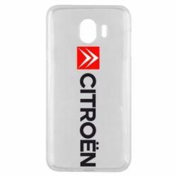 Чохол для Samsung J4 Citroën Logo