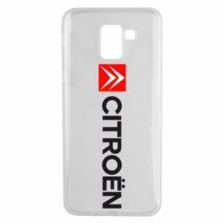 Чохол для Samsung J6 Citroën Logo