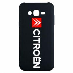Чохол для Samsung J7 2015 Citroën Logo