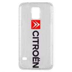 Чохол для Samsung S5 Citroën Logo