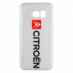 Чохол для Samsung S6 EDGE Citroën Logo