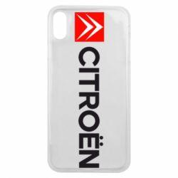 Чохол для iPhone Xs Max Citroën Logo