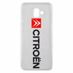 Чохол для Samsung J6 Plus 2018 Citroën Logo