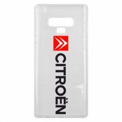 Чохол для Samsung Note 9 Citroën Logo