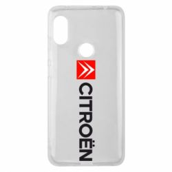 Чохол для Xiaomi Redmi Note Pro 6 Citroën Logo