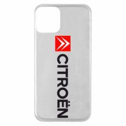 Чохол для iPhone 11 Citroën Logo