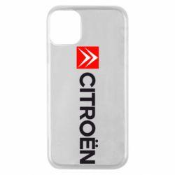 Чохол для iPhone 11 Pro Citroën Logo