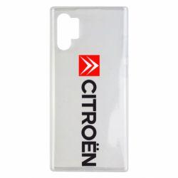 Чохол для Samsung Note 10 Plus Citroën Logo