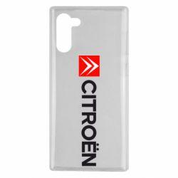 Чохол для Samsung Note 10 Citroën Logo
