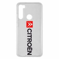 Чохол для Xiaomi Redmi Note 8 Citroën Logo