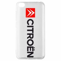 Чохол для Xiaomi Redmi Go Citroën Logo