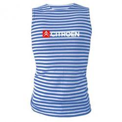 Майка-тельняшка Citroën Logo - FatLine
