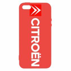 Чохол для iphone 5/5S/SE Citroën Logo