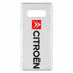 Чохол для Samsung Note 8 Citroën Logo