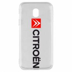 Чохол для Samsung J3 2017 Citroën Logo