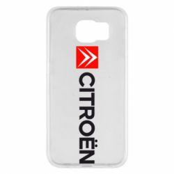 Чохол для Samsung S6 Citroën Logo