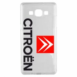 Чехол для Samsung A5 2015 Citroën Small