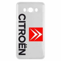 Чехол для Samsung J7 2016 Citroën Small