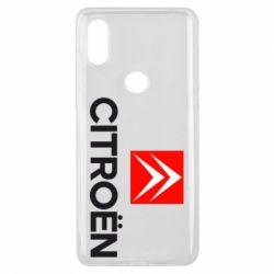 Чехол для Xiaomi Mi Mix 3 Citroën Small