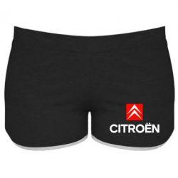 Женские шорты Citroën Small - FatLine