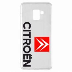 Чехол для Samsung A8+ 2018 Citroën Small