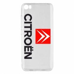 Чехол для Xiaomi Mi5/Mi5 Pro Citroën Small