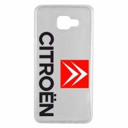 Чехол для Samsung A7 2016 CITROEN 2