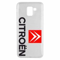 Чехол для Samsung J6 CITROEN 2