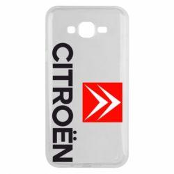 Чехол для Samsung J7 2015 CITROEN 2