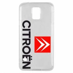 Чехол для Samsung S5 CITROEN 2
