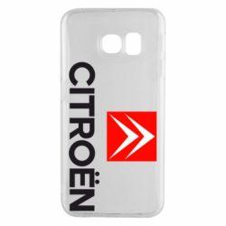 Чехол для Samsung S6 EDGE CITROEN 2