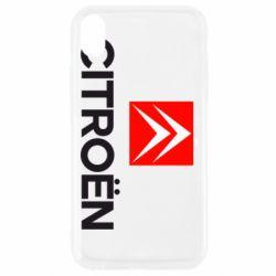 Чехол для iPhone XR CITROEN 2