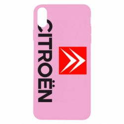 Чехол для iPhone Xs Max CITROEN 2