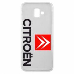 Чехол для Samsung J6 Plus 2018 CITROEN 2