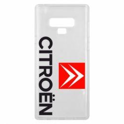 Чехол для Samsung Note 9 CITROEN 2