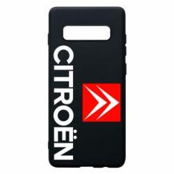 Чехол для Samsung S10+ CITROEN 2