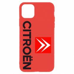 Чехол для iPhone 11 CITROEN 2