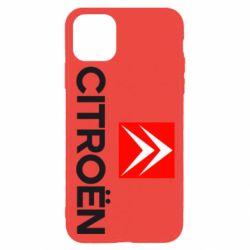 Чехол для iPhone 11 Pro CITROEN 2
