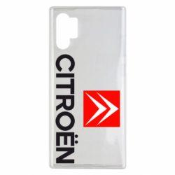 Чехол для Samsung Note 10 Plus CITROEN 2