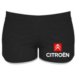 Женские шорты CITROEN 2 - FatLine