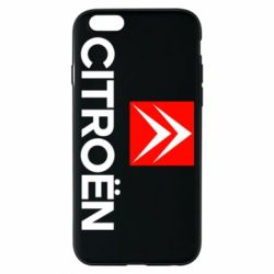 Чехол для iPhone 6/6S CITROEN 2