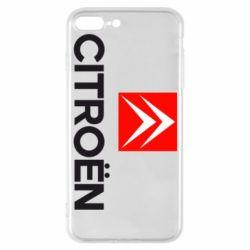 Чехол для iPhone 7 Plus CITROEN 2