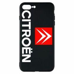 Чехол для iPhone 8 Plus CITROEN 2