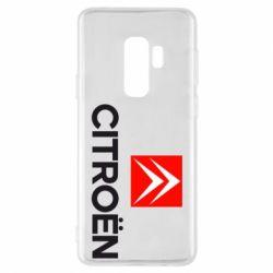 Чехол для Samsung S9+ CITROEN 2